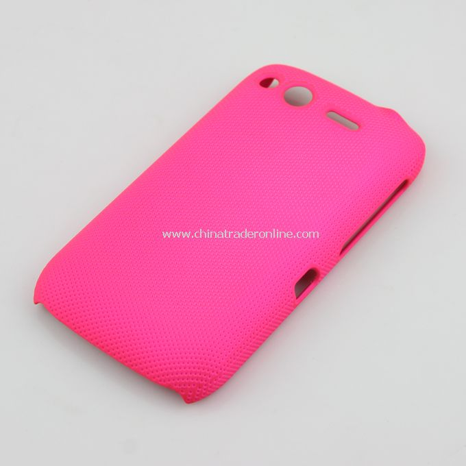 Plastic Hard Case Cover for HTC G12 rosy