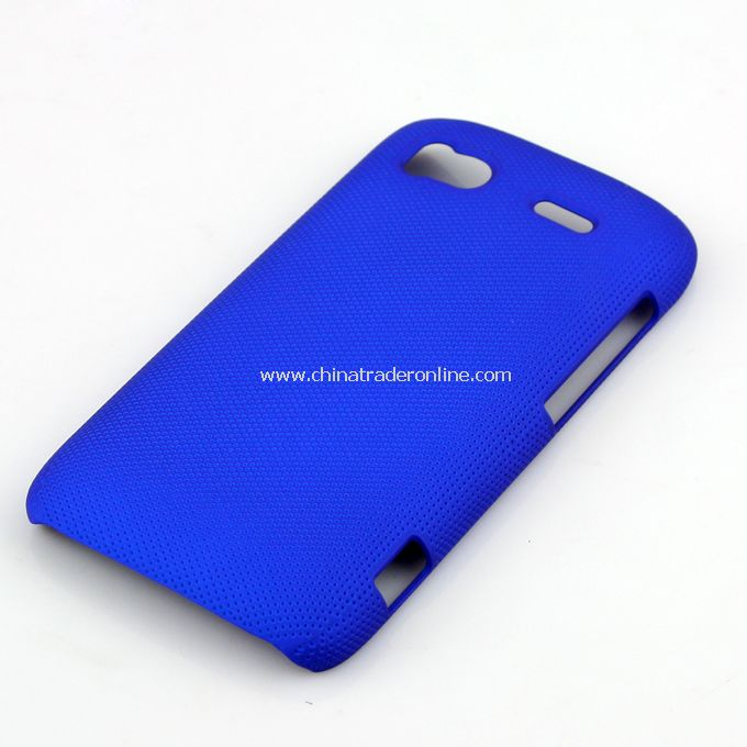 Plastic Hard Case Cover for HTC G14 blue