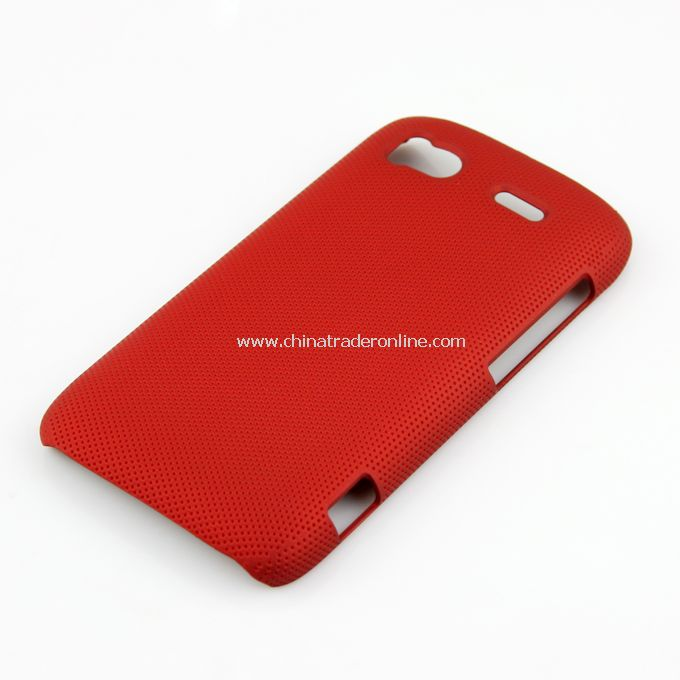 Plastic Hard Case Cover for HTC G14 red