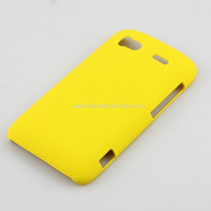 Plastic Hard Case Cover for HTC G14 Yellow from China