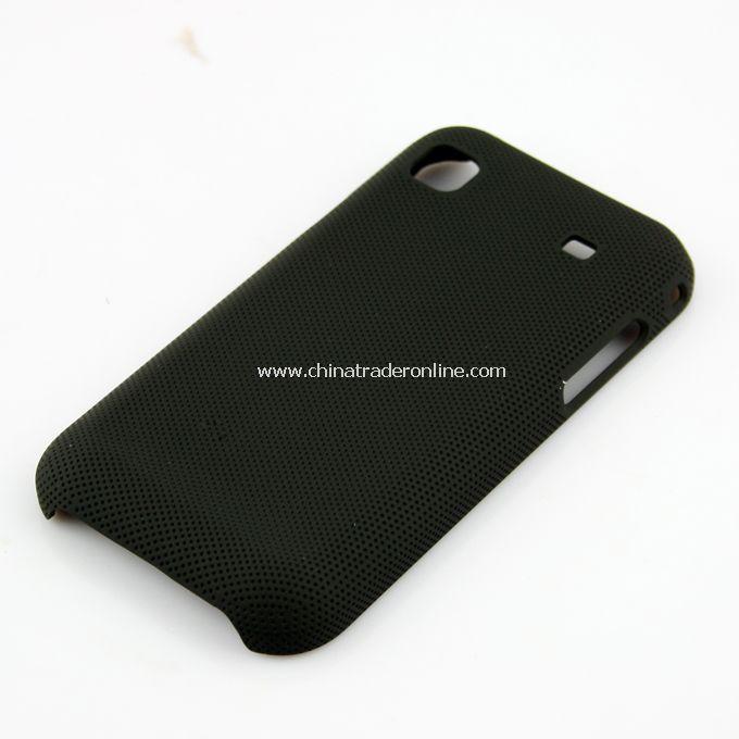 Plastic Hard Case Cover for Samsung i9000 Black
