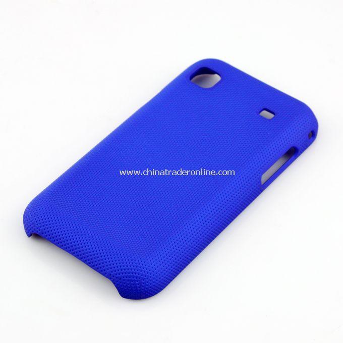 Plastic Hard Case Cover for Samsung i9000 Deep Blue