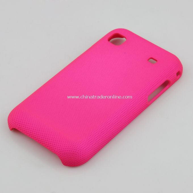Plastic Hard Case Cover for Samsung i9000 Rosy