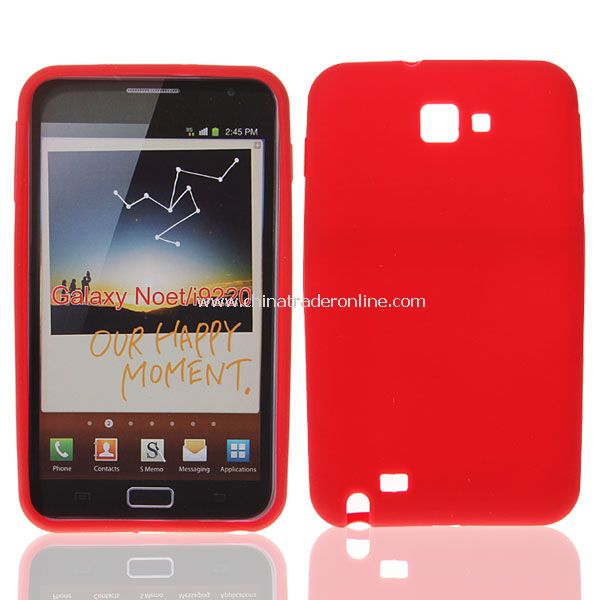 Stylish Silicone Case for Samsung Galaxy Note I9220 GT-N7000