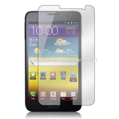 5 x Clear front screen protector for Samsung Galaxy Note N7000 / i9220 accessory