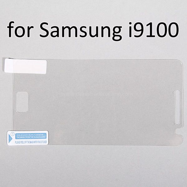 LCD Screen Protector Film for Samsung i9100