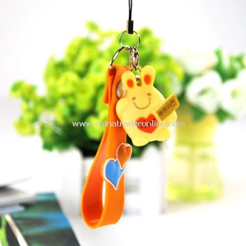 Mobile phone pendant / strap random color