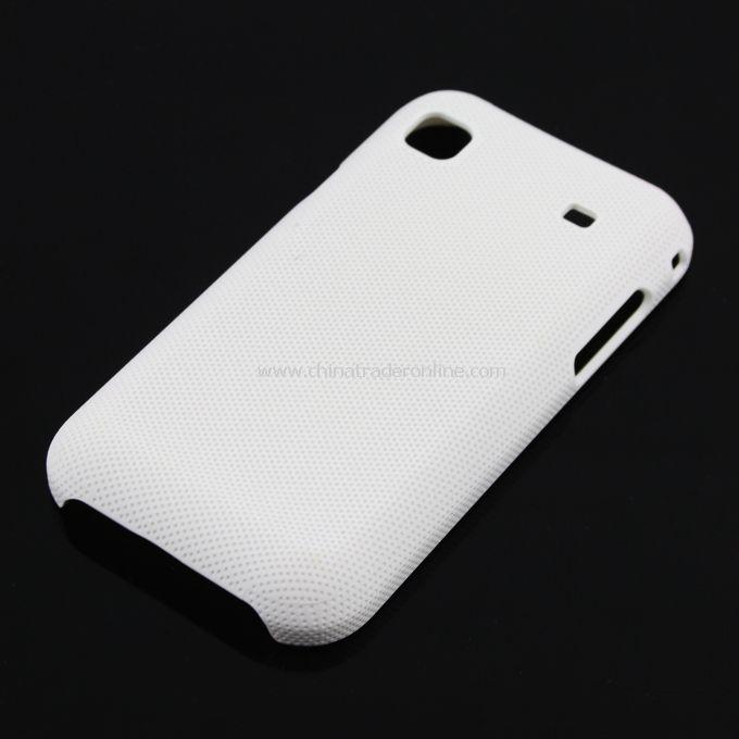 Plastic Hard Case Cover for Samsung i9000 White