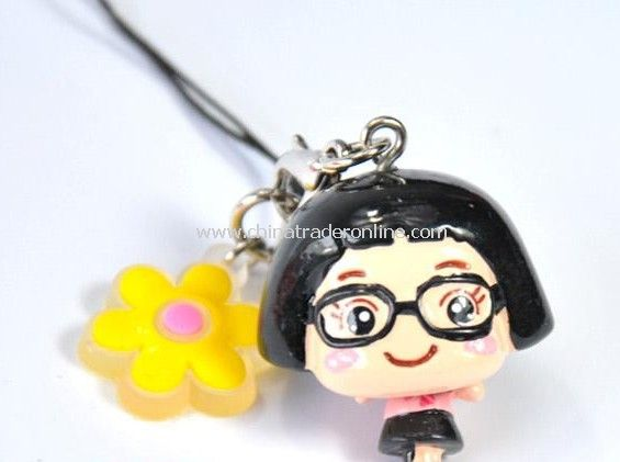 Cai Cai sister bags hanging / phone pendant from China