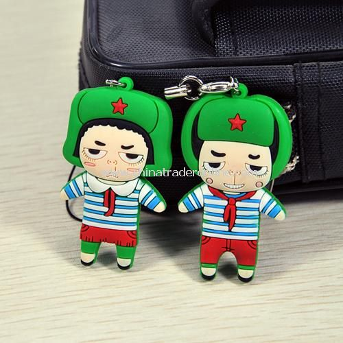 Couple phone pendant / mobile phone strap (1pair)