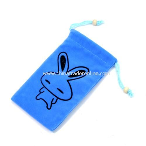 Fashion high-quality double-layer velvet set / phone protection bags ---- love rabbit