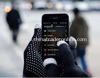 Smartphone Touch Screen Gloves iphone gloves in Black