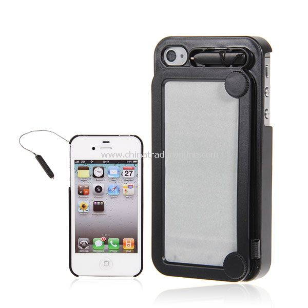 Black Retro Painting Board Case Magic Drawing Cover for iPhone 4/4S from China