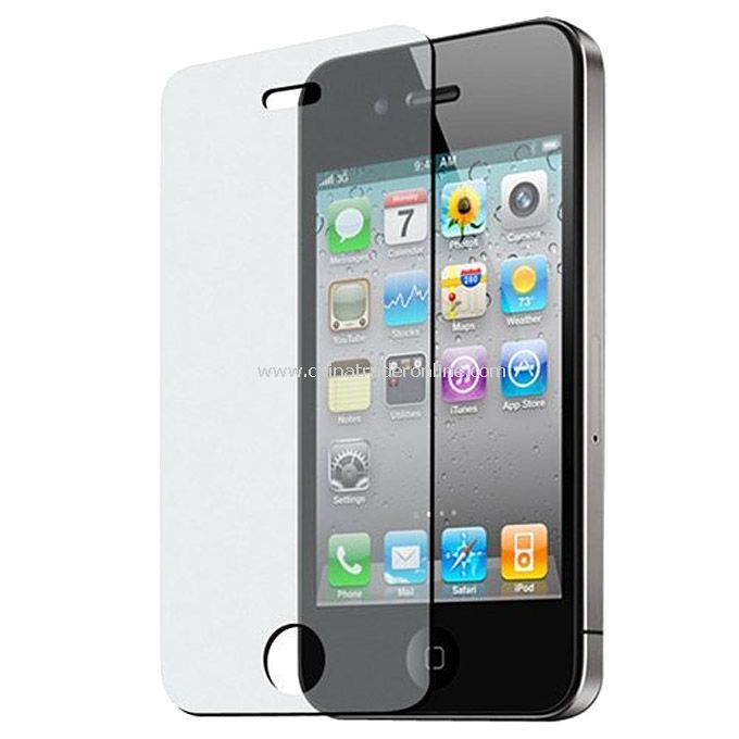Crystal Clear LCD Screen Protector Film Cover For iPhone 4/4S