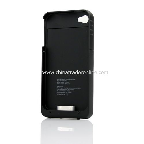 External Power pack Charger Battery Cover For iPhone 4