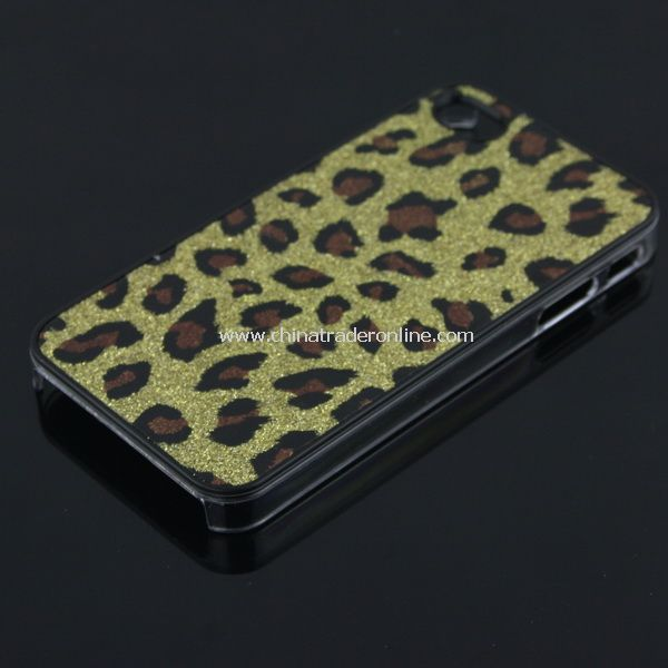 Golden Leopard HARD CASE COVER for Apple iPhone 4 4G