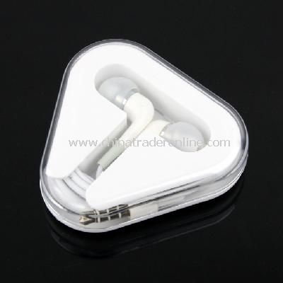 New In-Ear Earphones Headphone with Mic for Apple iPhone4 4G 3GS iPod