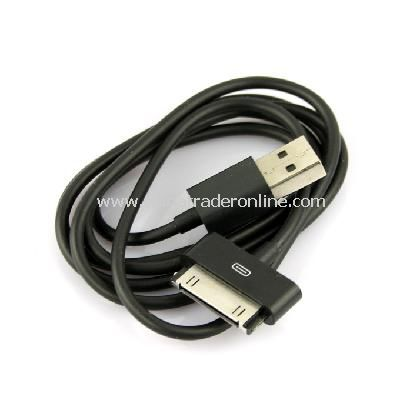 New USB Data Charger Cable Cord for Apple iPhone iPod iTouch Black