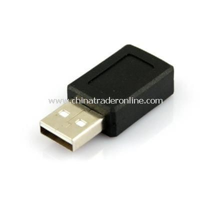 USB A Male to Mini B 5 Pin Female Adapter Converter New from China