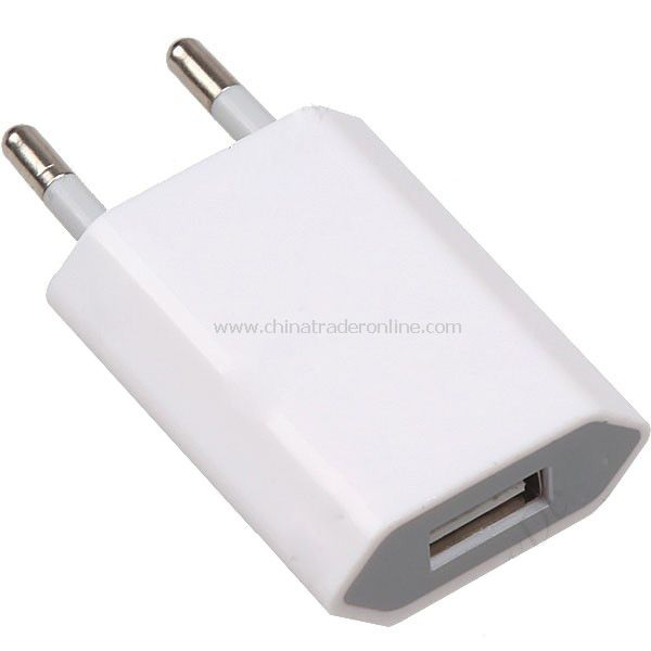 White Power Charger Adapter for iPhone 4G