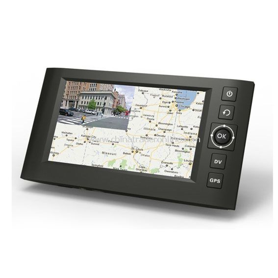 4.3 inch LCD Screen HD GPS CAR DVR support GPS Navigation and DVR