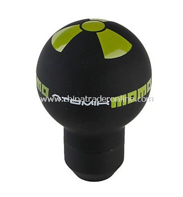 Aluminum Car Gear Shift Stick Knob Momo (Black)