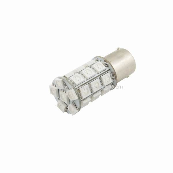 1156 Car 27 5050 SMD LED Turn Tail Light Bulbs Yellow