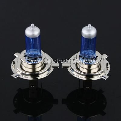 2pcs H4 P43T Halogen Auto Car Head Light Bulbs Lamp 12V 60/55W