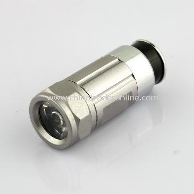 MINI LED FLASHLIGHT Auto car torch Cigarette lighter charger Flashlight
