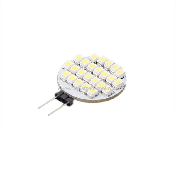 24-SMD 3528 LED Light Bulb Lamp 12V Pure white