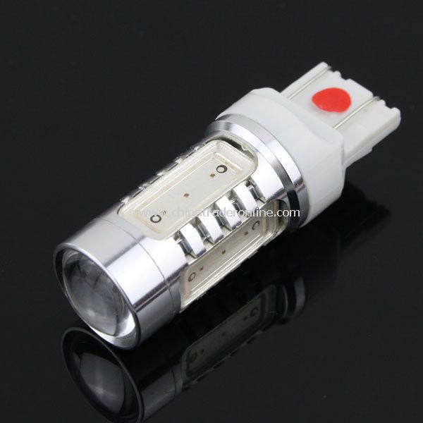 T20 High Power Super Bright 7.5W Back Up Backup LED Reverse Light Bulb Red