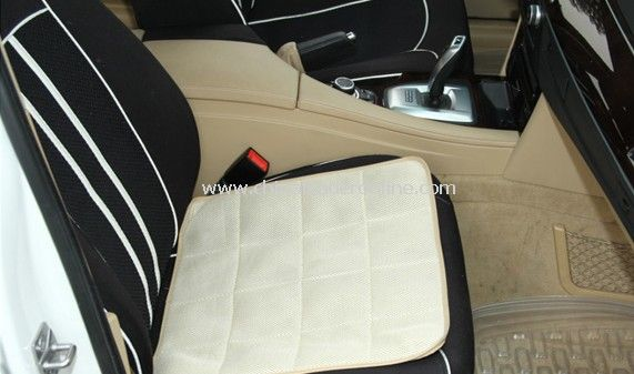Bamboo Charcoal Care Prevent Slippery Absorb Sweat Dust Removal Car Seat Cushion