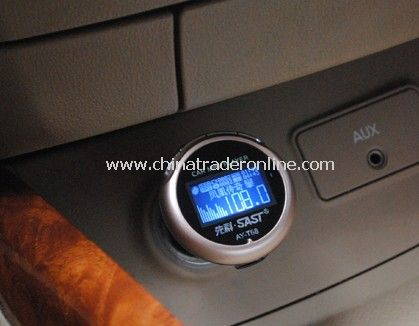 Car MP3 Player with FM Transmitter Built in 4GB flash memory