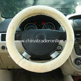 Classic Plush Warm Hands Steering Wheel Cover from China