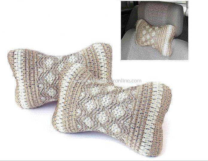 Comfortable Summer Car Ice Silk Head Pillow