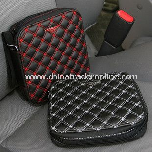 Durable Multifunction Zipper Close Car CD Bag
