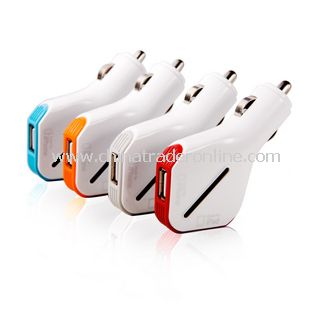 Durable Universal Cell Phone Function Mini USB Car Charger