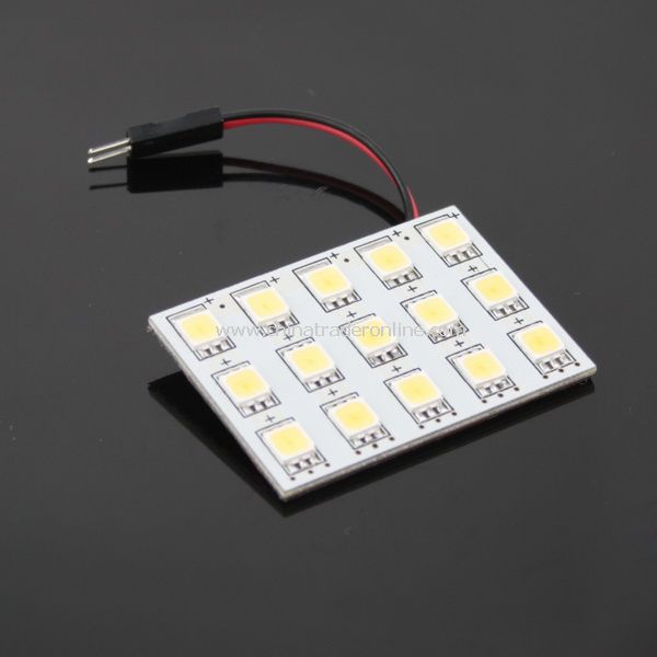 Replacement Car Roof 15 SMD LEDs 5252 Light Lamp Bulb White