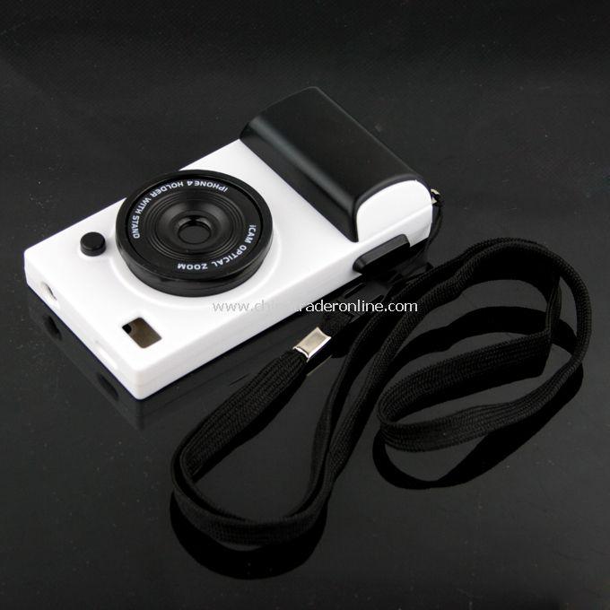 Camera Lens Design Fashionable Hard Back Case Cover For Apple iPhone 4 4G
