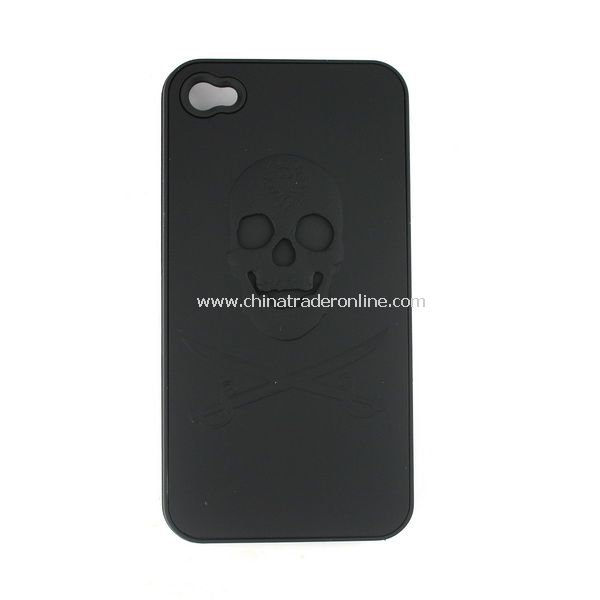 Cool Skull Pattern Hard Cover Case for Apple iPhone 4G from China