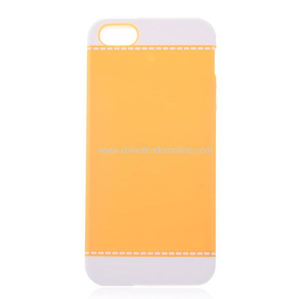 Cool Two-tone Plastic Hard Case for iPhone 5 from China