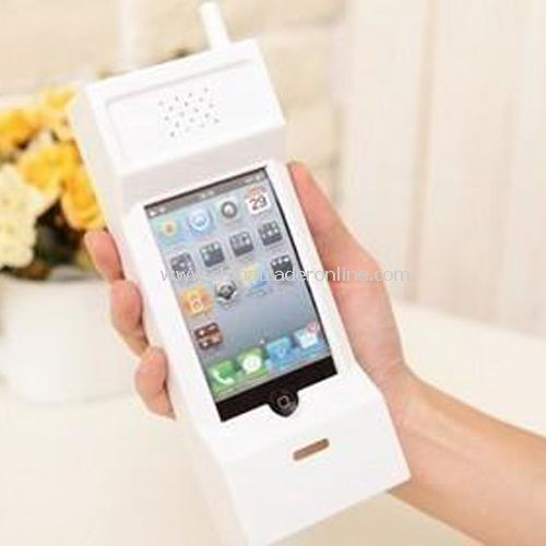 IPhone4/4S mobile phone shell protective sleeve mobile white PC material