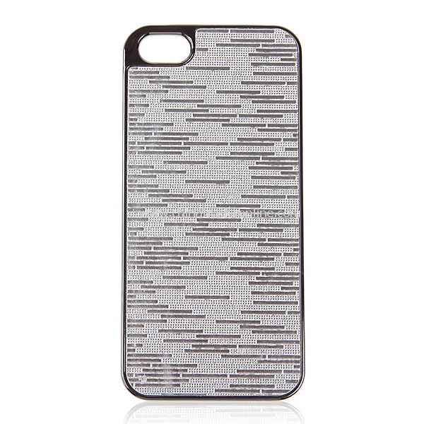 Luxurious Electroplating Plastic Cover Case for iPhone 5