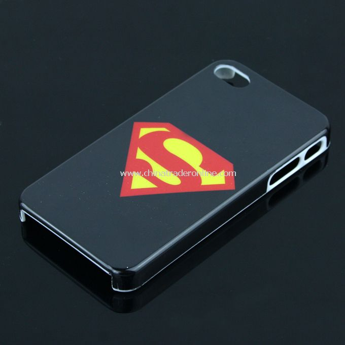 New Superman Design Case Cover Skin Protector for Apple iPhone 4G 4S