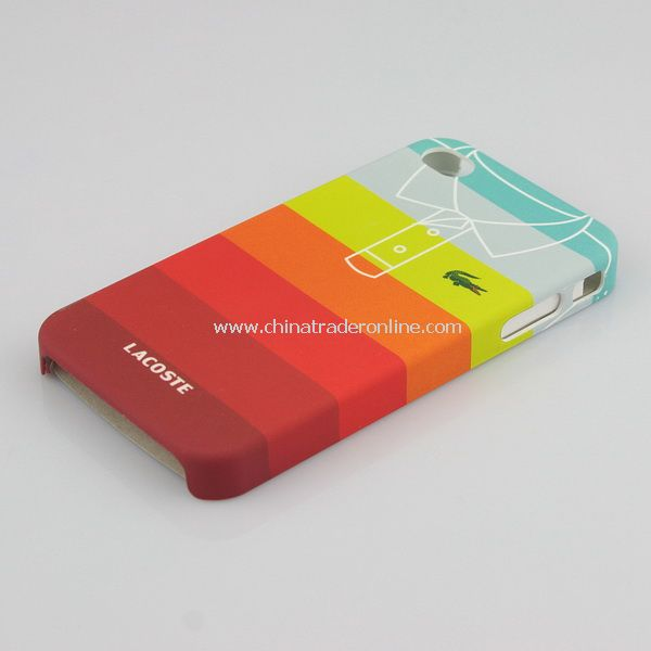 T-shirt Pattern Hard Cover Case for Apple iPhone 4 4G