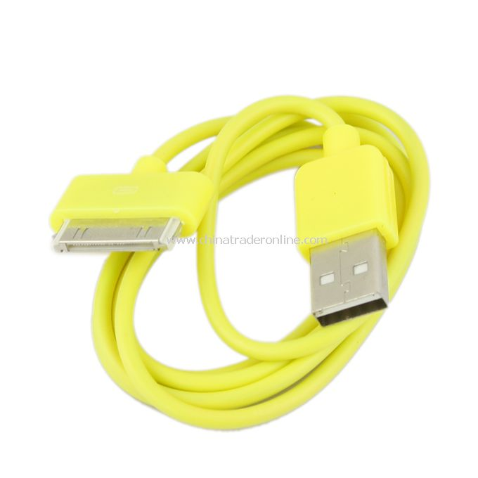 USB interface color charger line 8 color data transmission charging line bundle