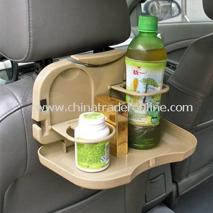 Multifunction Car Backseat Decorations Drinks Tray Cup Holders