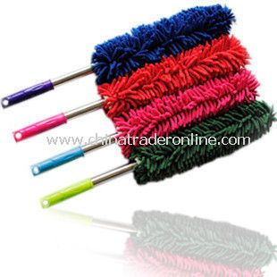 Superfine Fiber Coral Fleece Home Auto Car Wax Brush Duster Cleaning Kit