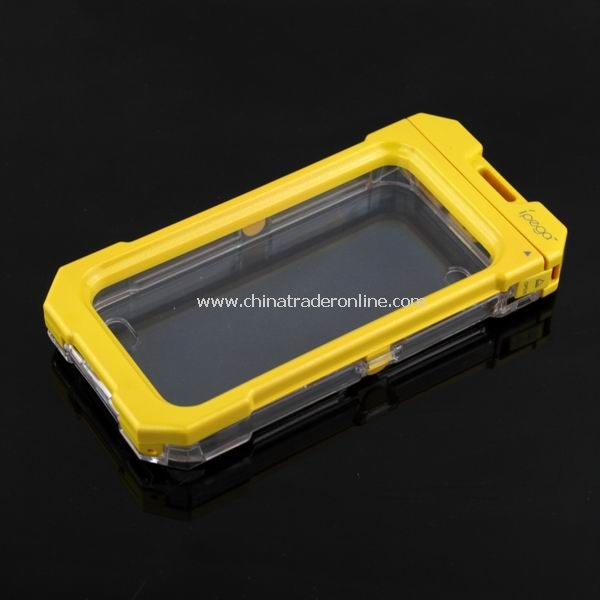 3M Waterproof Protective Box Case Cover for iPhone 4 4G Yellow