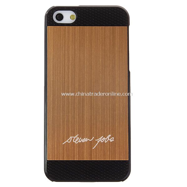 Cool Two-tone Brushed Plastic Hard Case for iPhone 5